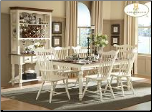 Lorna Collection (White) - Dining Room Set (SKU: HE-790W)