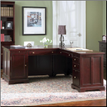 "Lawrenceville Classic ""L"" Shaped Computer Desk by Coaster (SKU: CO-800572LR)"