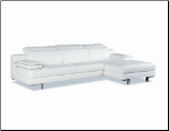2222 Italian Leather Sectional by J&M Furniture