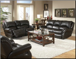 Philly Sofa Collection in Dark Brown - Homelegance (SKU: HE- 9814-LVNGSET)