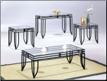 Matrix 3pc Coffee/End Table Set (SKU: AC-7558SET)