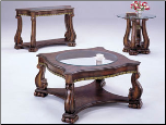Alameda Coffee/ End/ Sofa Table Set
