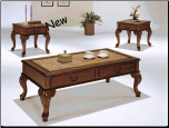 3pc Coffee/End Table Set