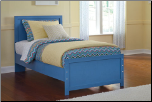 Signature Design by Ashley Youth Bedroom Dresser, Mirror, Twin Panel Headboard B044-21/26/53 (SKU: AB-B045-TWIN)