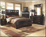 X-cess Bedroom Set  Set (117) (SKU: B117QSET)
