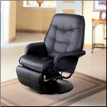 Swivel Recliner with Flared Arms (SKU: CO-7501)