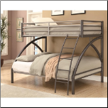 Twin-over-Full Contemporary Bunk Bed (SKU: CO-460079)