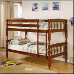 Twin Over Twin Bunk Bed (SKU: CO-460223)