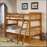Twin Over Twin Bunk Bed (SKU: CO-460233)