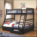 Vincent Twin Over Full Bunk Bed - Coaster 460181 (SKU: CO-460181)