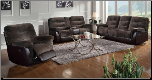 Coaster Elaina Comfortable Reclining Motion Sofa set 601081 (SKU: CO -601081-SEC)