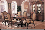 Coaster Dining Room Dining Table 100131 at Ernies in Ceresco