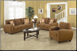 Coaster  Coaster Furniture 502971 Sibley Contemporary Stationary Living Room Set