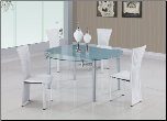 D87 Dining Set - Global Furniture (SKU: GL-D87)