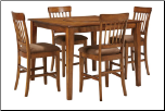 Ashley Square DRM Counter Table  Dining Room Table D199 by Ashley Furniture