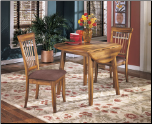 Ashley Drop Leaf Table Dining Room Table D199 by Ashley Furniture