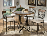 5 Pc. Counter High Dining Set D314-13-5PC Hopestand