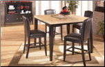 Naomi -  Dinette with Counter Height Table Set Signature Design by Ashley Furniture (SKU: AB-D451-1C)