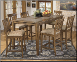 Signature Design Round Dining Room Table Set  D337-15 (SKU: AB-D449)