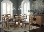 Ashley Signature Design by Ashley Dining Room Oval Extension Dining Table D473-45  by Ashley Design  Furniture