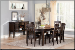Haddigan Rectangular Dining Room Set by Ashley Furniture (SKU: AB- D596)