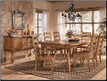 Holfield  -  Dining Table Set Signature Design by Ashley Furniture (SKU: AB-D430-01)