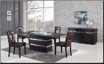 Dining Set - Global Furniture (SKU: GL-DG072BT  DG072BS-BR)