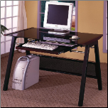 Desks Computer Desk with Keyboard Tray by Coaster