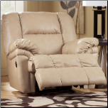 DuraBlend - Natural  Rocker Recliner Signature Design by Ashley Furniture