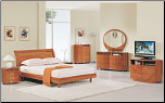 "Cherry King Bedroom Set ""EMILY"" By Global Furniture"