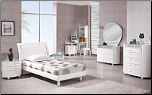 White Finished Kids Bedroom Set with Twin  Size Bed  By Global Furnither USA (SKU: GL-EMILY-KWTSET)