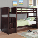 Twin Bunk Bed with Stairs (SKU: CO-460441)