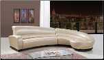 U958 Sectional Bonded Leather by Global Furniture USA (SKU: GL-U958-SEC)
