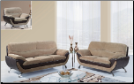 U4160 Global Furniture USA Champion Froth Sofa and Loveseat (SKU: GL-U4160)