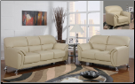 U9103 Global Furniture Cappuccino Sofa and Loveseat (SKU: GL-U9103-CA)