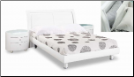 White Finished Kids Bedroom Set with Full Size Bed  By Global Furnither USA (SKU: GL-EMILY-KWFSET)