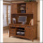 Cross Island Large Hutch Home Office Set Signature Design by Ashley Furniture (SKU: AB-H319-46/49)