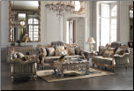 Sanary Living Room Set by Homey Design HD-287-L (SKU: HD-HD287SET)