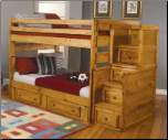 Hill Full Over Full Bunk Bed with Under-Bed Storage