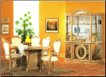 KETTY  Dining Room Set by Glass-Form Colleciton (SKU: GF-  KETTY)
