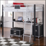 Twin Loft Bed with Desk (SKU: CO-460281)