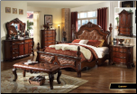 Luxor - Elegant Solid Wood Traditional Bedroom Set by Empire Furniture Design (SKU: EM-Luxor-KSET)