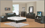 Madison- Madison Bedroom  Set by Glboal Furnither USA (Queen) (SKU: GL-Madison-QSET)