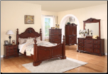 Manor - Elegant Solid Wood Traditional Bedroom Set by Empire Furniture Design (SKU: EM-Manor-QSET)