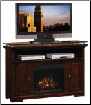 Midnight Cherry Media Mantel Electric Fireplace (SKU: CO-900375N)