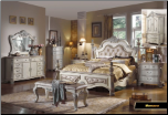 Monaco- Elegant Solid Wood Traditional Bedroom Set by Empire Furniture Design (SKU: EM-Monaco-KSET)