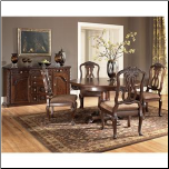 North Shore  -Round Pedestal Table Top  & Side Chair Signature Design by Ashley Furniture (SKU: AB-D553-S2)