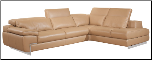 OREGON II -   ITALIAN LEATHER SECTIONAL BY J&M FURNITURE USA (SKU: JM-OregonIIM)