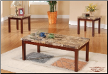 Top Quality Faux Marble Coffee Table Set (SKU: EM-220)