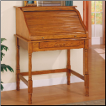 Palmetto Small Roll Top Secretary Desk by Coaster (SKU: CO-5301N)